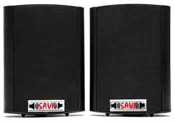 5 Inch Savi Speakers Front
