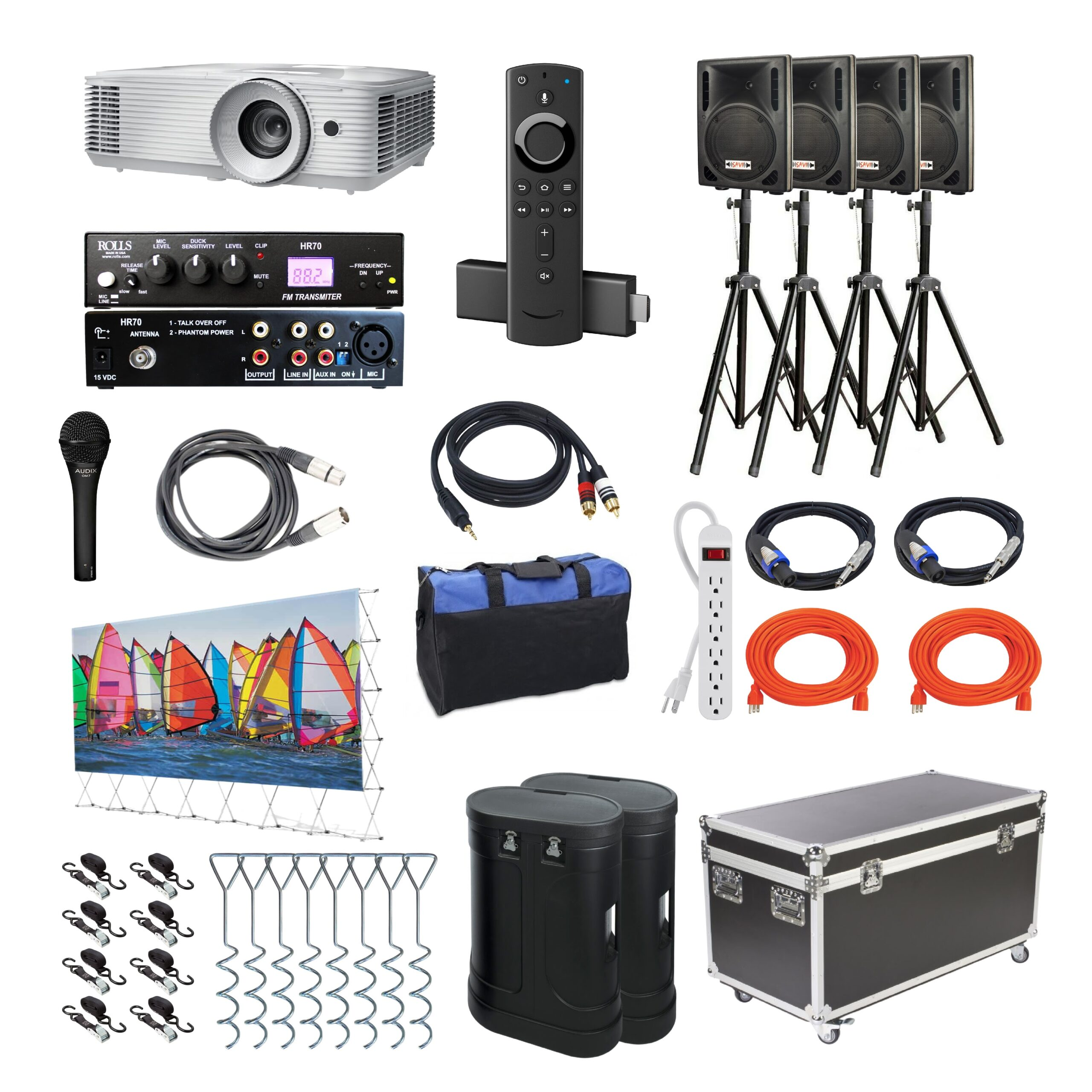 Drive-In Series System Components